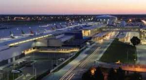 Detroit Metropolitan Airport, Michigan one of the Largest Airport In The Us By Size