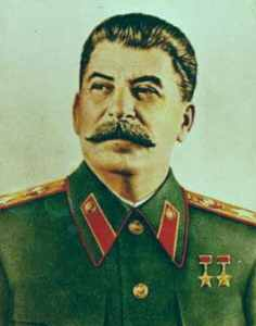 Joseph Stalin on the list of Evilest Leader in History