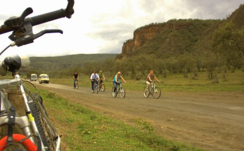 Cycling in Mount Longonot National Park-Kenya