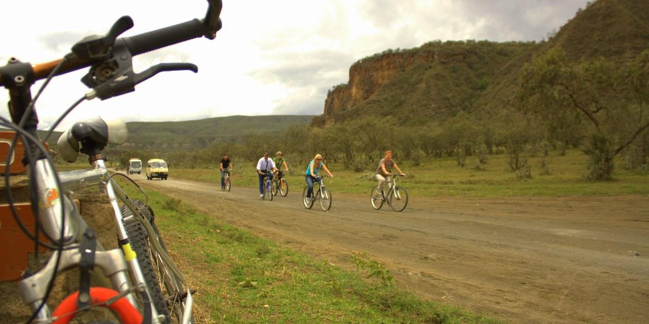 Cycling in Mount Longonot National Park-Kenya