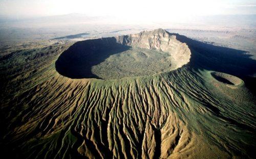 crater rim of Mount Longonot