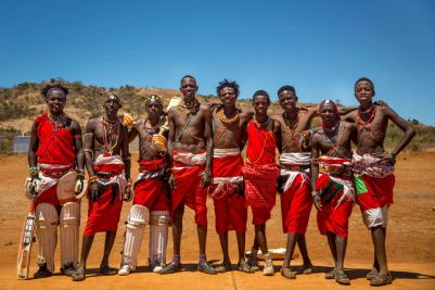 Maasai warriors