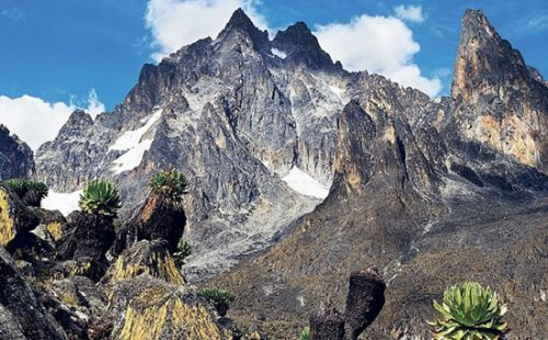 Mountaineering in Mount Kenya national Park