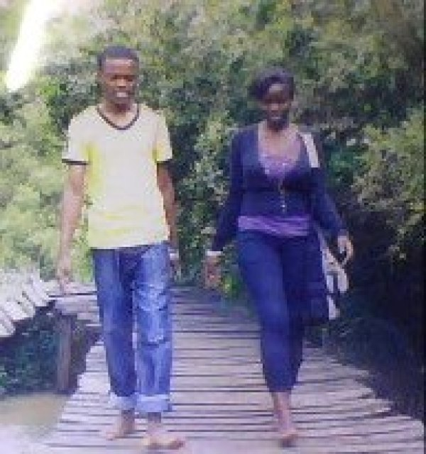 That is my fried Judy and I in Ndura farm in Kitale. An amazing place to go for nature walks, meditation, reconciliation and much more.  It is vey a scary place, I had to go with a tour guide at a cheap price.