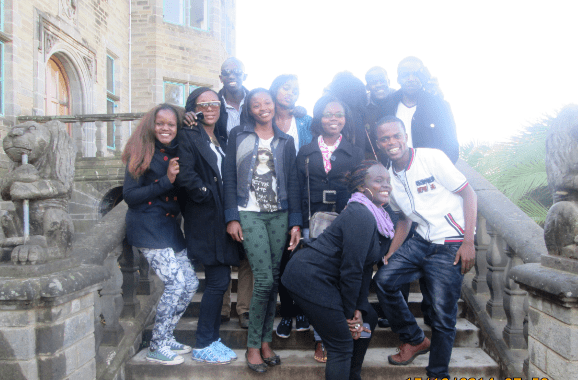 My friends and I at Lord Egerton Castle