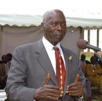 President Daniel Arap Moi