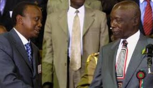 uhuru  kenyatta in 2002