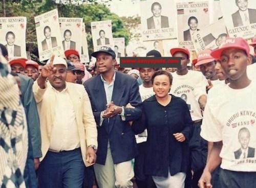 uhuru kenyatta  joins politics 1997  8