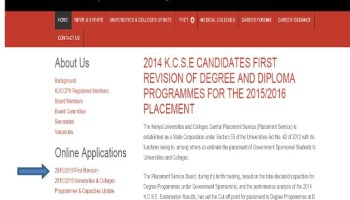 2014 kuccps new cut point