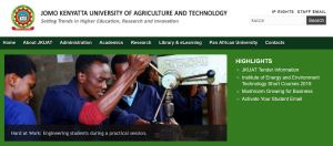 JKUAT KUCCPS admission letters and list, 2019