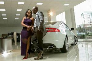 Dennis Okari and Betty Kyallo