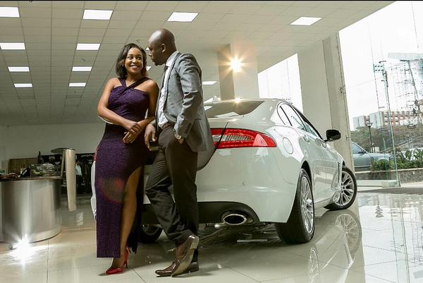 Dennis Okari and Betty Kyallo