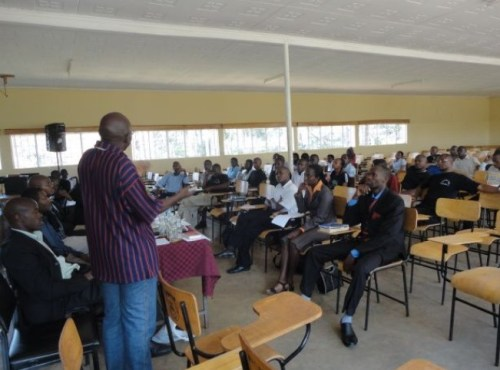 kisii university lecture hall