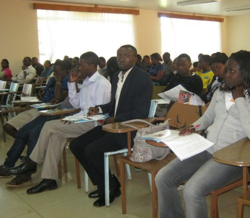 Moi university lecture room