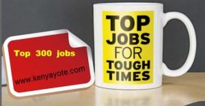 top jobs in kenya careers