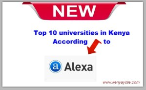 top university rankings in kenya