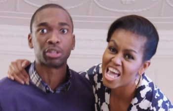 "Michelle Obama and Saturday Night Live"" star Jay Pharoah"