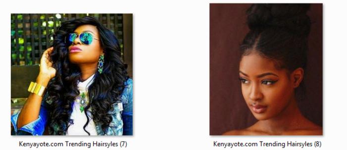 long hairstyles in kenya
