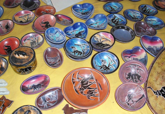 Soapstone Bowls, Plates Africa