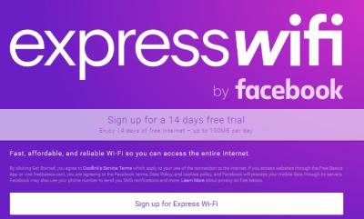 facebook expresswifi in Nairobi Kenya data