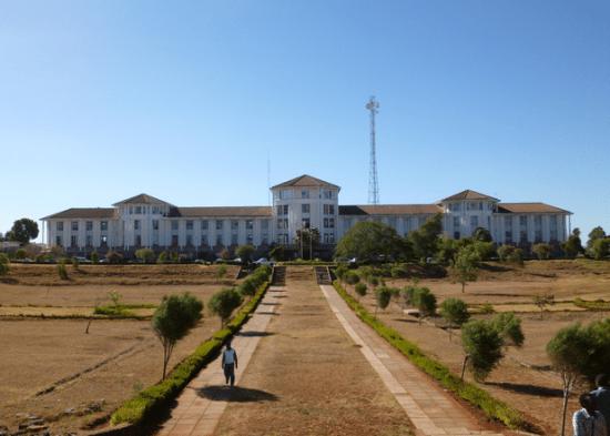 Moi University administration block beautiful university building in kenya