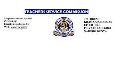 teachers service commission statement- tsc 2017