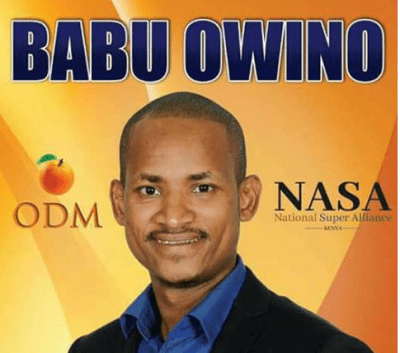 Babu Owino wins embakasi east odm nomination winner and sonu chair
