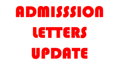 KUCCPS 2017 Intake admission letters