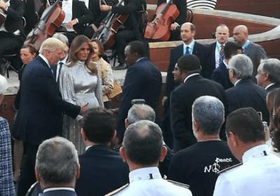 Photo President Uhuru Kenyatta meets Donald Trump at G7 summit, Italy