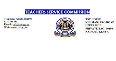 TSC circular clarification on teachers participation as elections officials