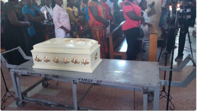 Baby Pendo Requiem Mass Held