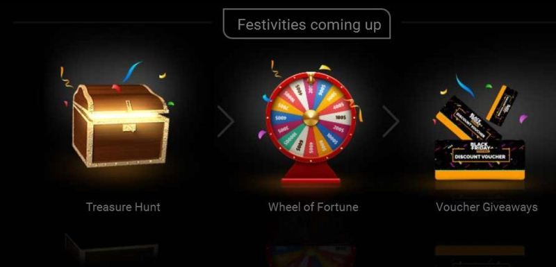 Jumia 2017 Black Friday Wheel of fortune spin, Treasure Hunt, and Vouchers Giveaways