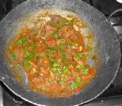 Procedure of Cooking Wet fry beef meal (mbuzi) Kenyan recipe