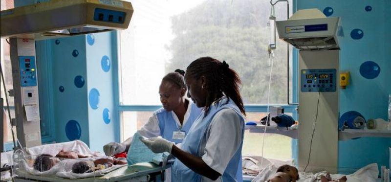 Nairobi Hospital New Born maternity ward