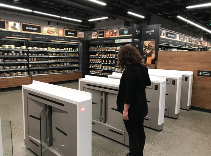 Inside the new Amazon Go store