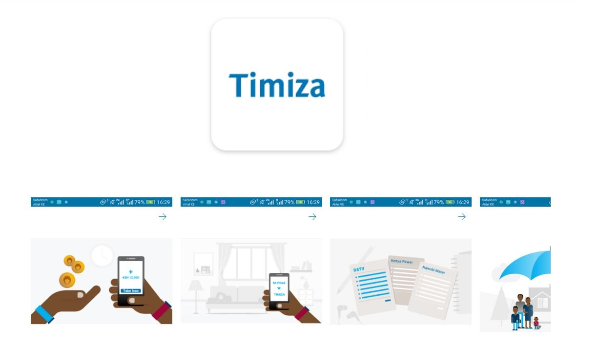 How to apply for Timiza app unsecured loan in Kenya