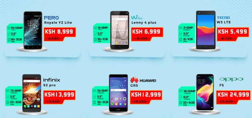 Jumia mobile week 2018 best smartphone offers