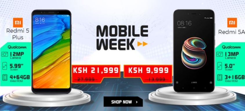 enjoy the 2018 jumia mobile week in kenya with great smarphone offers and discounts
