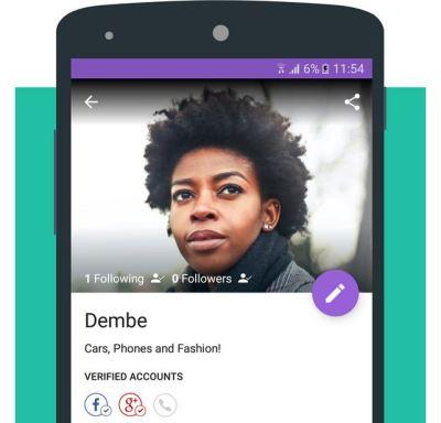 the new olx Kenya profile accoun