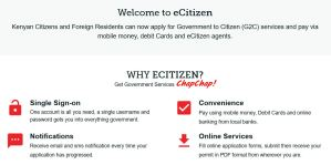 how to apply for a certificate of good conduct online through ecitizen portal and download