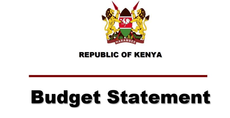 Kenya Budget for Financial year 2018 2019, summary and full pdf statement of Henry Rotich speech in parliament