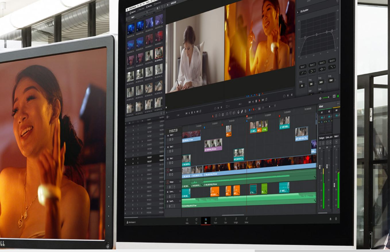 Davinci Resolve Video Editing Software by BlackMagic