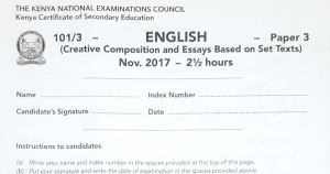How to pass kcse english exams and where to download pdf past papers 1, 2 and 3