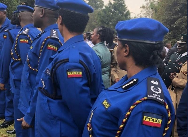 New police uniform in Kenya