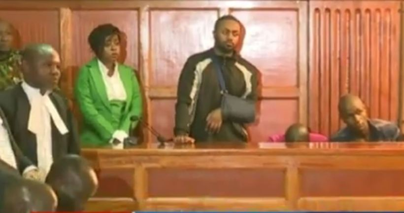 Joseph Kuria Irungu alias Jowie and Jacque Maribe in court for Case Hearing and ruling on Monica Kimani murder