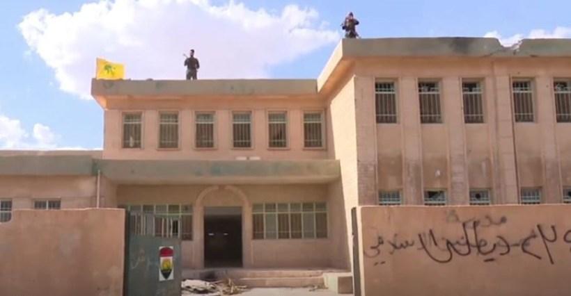 Kocho secondary school where Nadia Murad studied