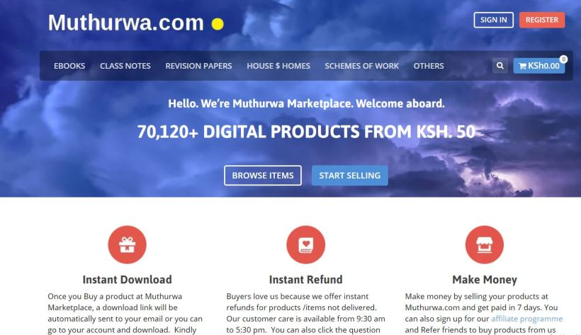 online jobs for campus students at muthurwa Marketplace