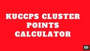 kuccps cluster point calculator and kuccps cluster point calculator