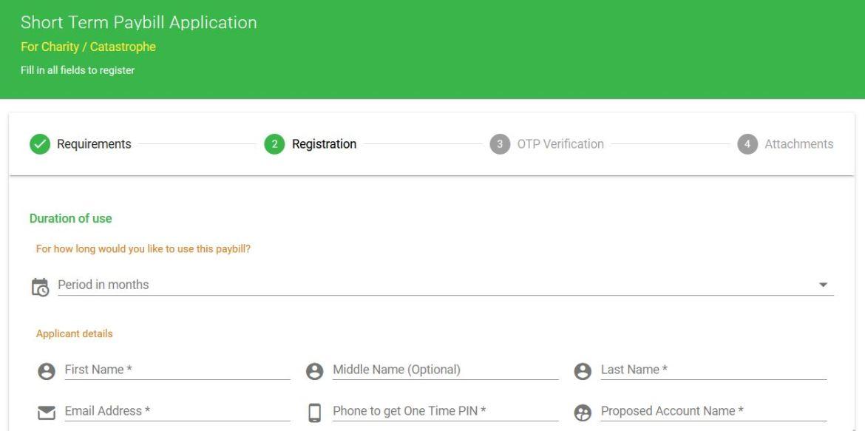Safaricom website where to get mpesa short term paybill number