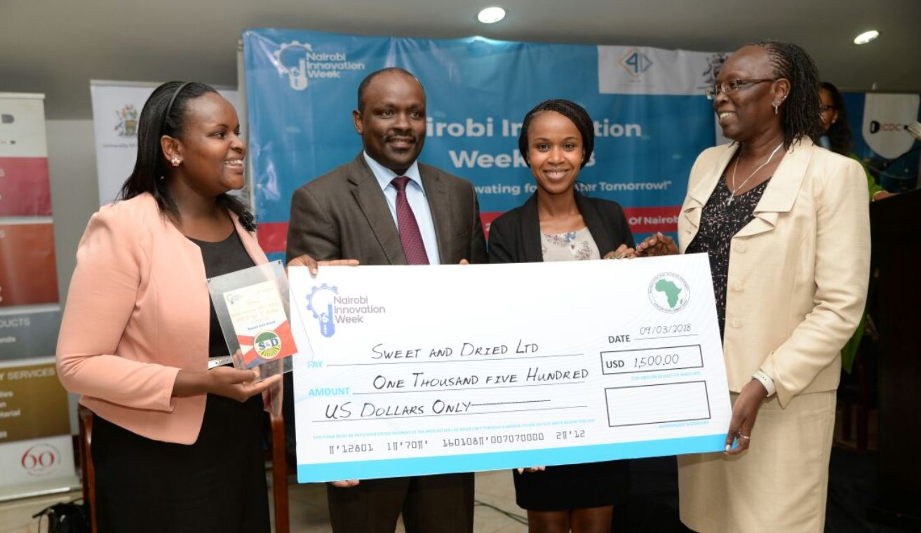Nairobi innovation week prior to 2019 startup award winners